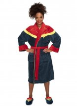 Captain Marvel Ladies Fleece župan Captain Marvel