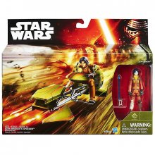 Star Wars figurka Ezra Bridger Speeder