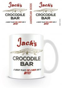 American Gods Hrnek Crocodile Bar