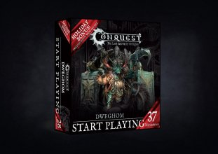 Conquest: The Last Argument of Kings Battalion Starter Box Dwegh
