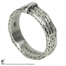 Outlander Claire's Wedding Ring (Sterling Silver) Size 05