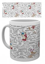 The Ren & Stimpy Show Mug Quotes