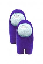 Among Us Plush Figures Crewmates purple 28 cm Display (2)