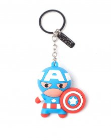 Marvel 3D Rubber Keychain The Captain America Character 7 cm