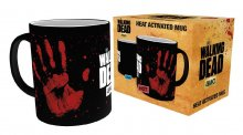 Walking Dead Heat Change Mug Hand Print