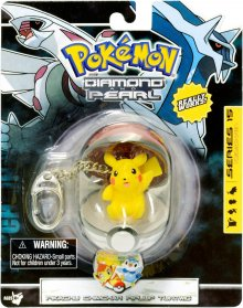 Pokemon Diamond and Pearl PVC přívesek Pikachu