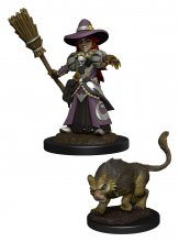WizKids Wardlings Miniatures Girl Witch & Witch's Cat Case (6)