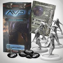 AvP Tabletop Game The Hunt Begins Expansion Pack Alien Infants *