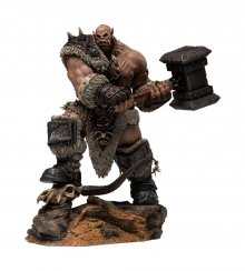 Warcraft: The Beginning Socha 1/9 Orgrim Standard Version 27 cm