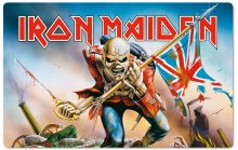 Iron Maiden Cutting Board Trooper