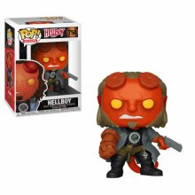 Hellboy POP! Movies Vinylová Figurka Hellboy with BPRD Tee 9 cm