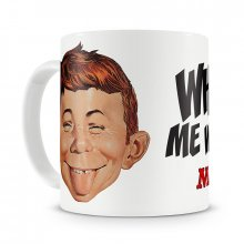 Mad Magazine hrnek Alfred E. Neuman What Me Worry