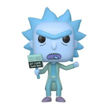 Rick and Morty POP! Animation Vinylová Figurka Hologram Rick Clo
