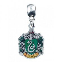 Harry Potter Charm Zmijozel Crest (silver plated)