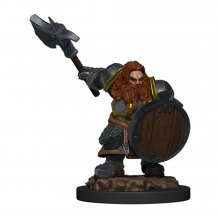 D&D Icons of the Realms Premium Miniature pre-painted Dwarf Figh