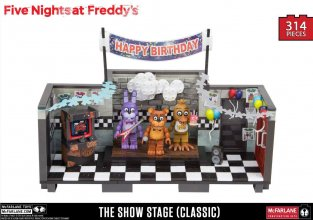 Five Nights at Freddy´s Large Construction Set Showstage (Classi