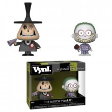 Nightmare Before Christmas VYNL Vinylové Figurky 2-Pack Mayor &
