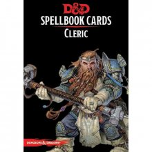 Dungeons & Dragons Spellbook Cards: Cleric Deck *English Version