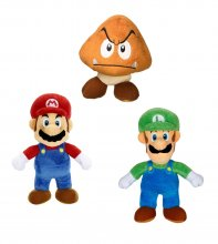 Super Mario Bros. U World of Nintendo Plush Figures 19 cm Assort