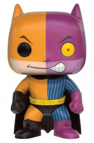 DC Comics POP! Heroes Vinyl Figure Batman as Two-Face Impopster