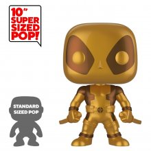 Deadpool Super Sized POP! Vinylová Figurka Thumbs Up Gold Deadpo