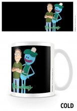 Rick and Morty Heat Change Mug Jerry and Mr Meeseeks