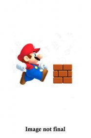 World of Nintendo Akční figurka Wave 16 Chibi Mario with Brick 1