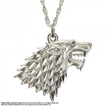 Game of Thrones Pendant & náhrdelník Stark Sigil (Sterling Silve