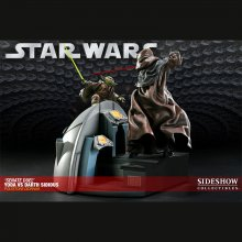 Star Wars Diorama duel v Senátu Yoda vs. Darth Sidious