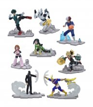 My Hero Academia Craftables PVC Dioramas 9 cm Display (12)