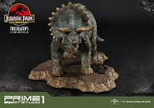 Jurassic Park Prime Collectibles PVC Socha 1/38 Triceratops 11