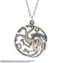 Game of Thrones Pendant & náhrdelník Targaryen Sigil (Sterling S