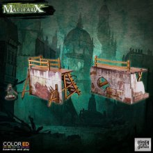 Malifaux ColorED Miniature Gaming Model Kit 32 mm Old Town Barri