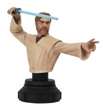 Star Wars The Clone Wars Bust 1/7 Obi-Wan Kenobi 15 cm