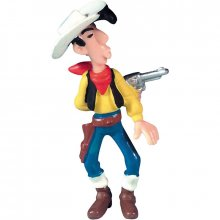 Figurka Lucky Luke Shooting In His Back 8 cm