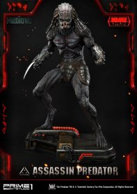 The Predator Socha 1/4 Assassin Predator Deluxe Version 93 cm