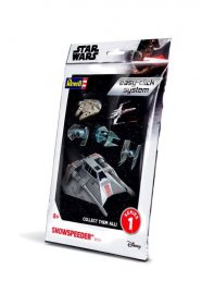 Star Wars Level 2 Easy-Click Snap Model Kit Series 1 Snowspeeder