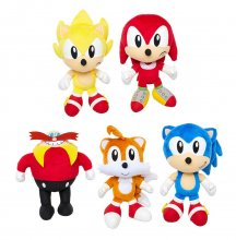 Sonic Basic Plush Figures 18 cm Wave 1 Display (8)