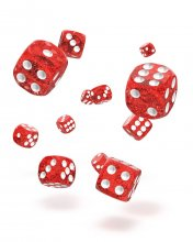Oakie Doakie Kostky D6 Dice 12 mm Speckled - Red (36)