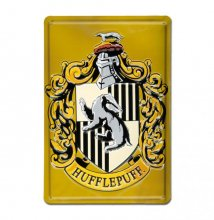 Harry Potter 3D Tin Sign Hufflepuff 20 x 30 cm