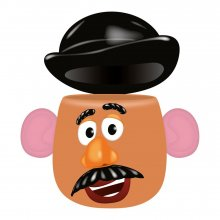 Toy Story Shaped Hrnek Mr. Potato Head