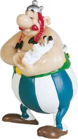 Asterix Figure Obelix with Dogmatix 8 cm