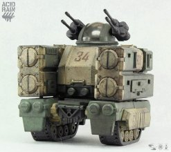 Acid Rain Transforming Mecha Action Vehicle 1/18 Stronghold (Mar