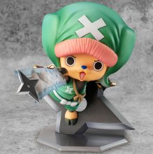 One Piece P.O.P PVC Socha Warriors Alliance Chopper 10 cm