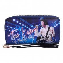 Elvis Presley Purse The King of Rock and Roll 19 cm