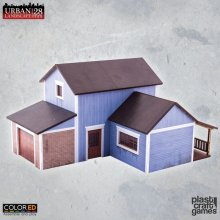 Urban Landscape ColorED Miniature Gaming Model Kit 28 mm Suburba