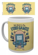 Adventure Time Mug Video Games