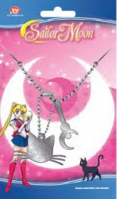 Sailor Moon vojenské známky with ball chain Luna