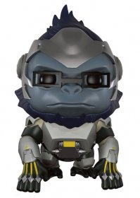 Overwatch Super Sized POP! Games Vinylová Figurka Winston 14 cm