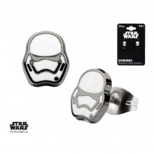 Star Wars Episode VII Earrings Villain Stormtrooper
